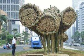 """Tanggapan masyarakat pasca-pembongkaran bambu """"Getah-Getih"""" di Bundaran HI"""