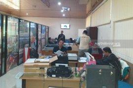 Polisi sita sejumlah dokumen dari kantor Dispora Sumut