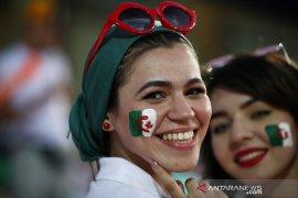 Suporter Aljazair menangi tarung politik, saatnya juara Piala Afrika di Mesir