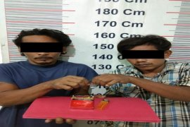 Polisi Kuala Langkat ringkus dua tersangka pemilik narkotika