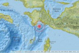 Gempa 4,3 SR guncang Kaimana-Papua Barat