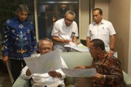 Bupati Samosir konsultasi proyek infrastruktur kepariwisataan ke Kementerian PUPR