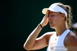 Gagal di Wimbledon, Kerber pisah dengan pelatih