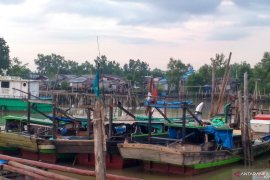 Masih banyak nelayan trawl Jambi  gunakan pukat harimau