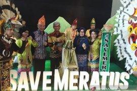 """HST kampanyekan """"Save Meratus"""" pada pertemuan nasional bubuhan Banjar"""