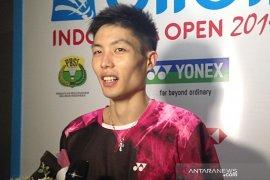 Jelang final Indonesia Open, unggulan Taiwan Chou ingin istirahat