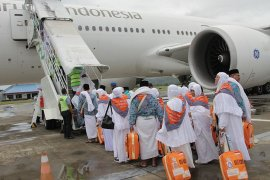 Kloter pertama calhaj Aceh tiba di Jeddah