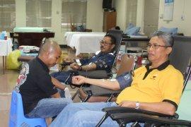 PMI Jambi kumpulkan seratusan labu darah dari donor SKK Migas-PetroChina