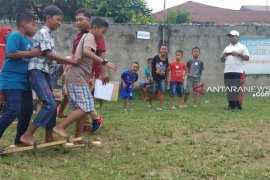 Permainan tradisional meriahkan Hari Anak Nasional di Medan