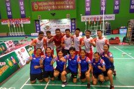 Bulutangkis beregu putra dan putri Indonesia sandingkan gelar ASG