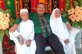 Pasutri asal Padangsidimpuan calon haji tertua kloter 09 Medan