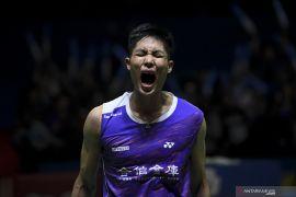 Taiwan's shuttler wins men's singles at Indonesia Open