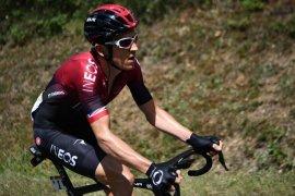 Pesepeda Geraint Thomas mengaku terlalu lemah