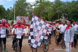 Menpora lepas Jelajah Nusantara 2019 dari Titik 0 KM  Sota Merauke