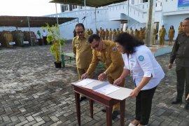 Pemkab Tanimbar tandatangani MoU dengan BPJS Kesehatan Ambon