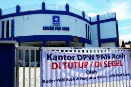 Kantor DPW PAN disegel pengurus