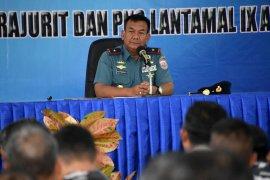 Laksma Budi Purwanto mulai tugas Danlantamal IX/ Ambon