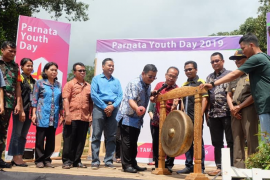 Bupati Sekadau tutup Paroki Nanga Taman Youth Day