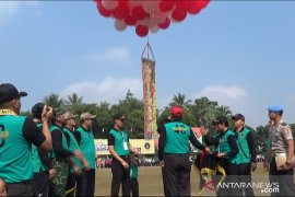 Ribuan siswa Setukpa Polri dan perwakilan sekolah se-Sukabumi ikuti Porismas