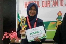 Khairun Nasyrah, Mahasiswi Aceh Juara Hifdzil Quran Pionir IX se-Indonesia