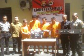 Polres Rejang Lebong tangkap empat pelaku penyalahgunaan narkoba