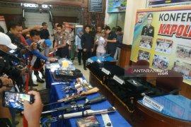 Satriadi, pecatan polisi gembong narkoba Riau