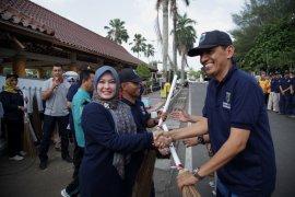 Bupati Irna serukan warga jaga kebersihan