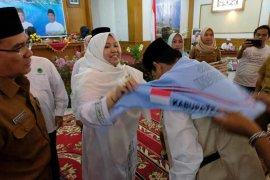 Bupati Muarojambi lepas 185 calon jamaah haji ke Tanah Suci