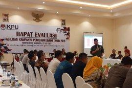 KPU Jatim gelar evaluasi penyelenggaraan Pemilu 2019