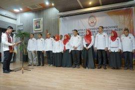 Dilantik sebagai ketua, Darwati Siap majukan olahraga sepeda Aceh