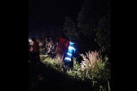 Kecelakaan bus angkut JCH akibat kelalaian pengemudi