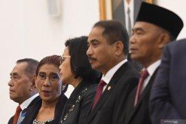 Peneliti sebut Presiden Jokowi patut pertahankan tiga menteri perempuan