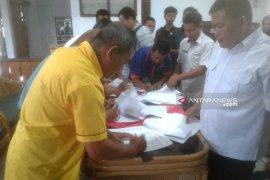 KPU Rejang Lebong serahkan berita acara penetapan calon terpilih