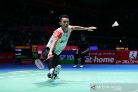 Tiga tunggal putra Indonesia ke perempat final Japan Open 2019