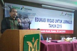 BPMA tingkatkan edukasi Migas Jurnalis di  Aceh