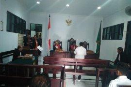 Syaiful divonis  1,3 tahun penjara karena angkut kayu ilegal
