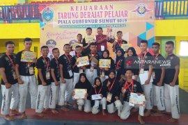 Asahan juara umum Kejurda Tarung Derajat Piala Gubernur Sumut