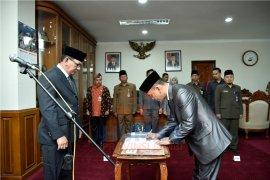 Mantan Wabup Muarojambi jabat Sekretaris Disperindag Provinsi Jambi