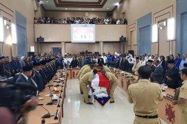 DPRD Ambon paripurna pelepasan jenazah anggota partai Demokrat