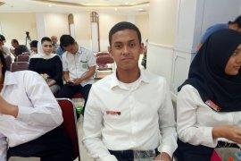 Anggota Paskibraka Rangga cucu Mantan Kapolri Rusman Hadi