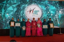 PKK Kota Tangerang meraih penghargaan tingkat nasional