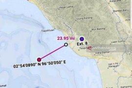 Pencarian penumpang lompat ke laut dihentikan