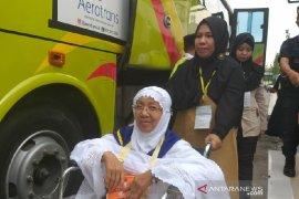 Dua jamaah calon haji Medan tertunda ke Mekkah karena sakit