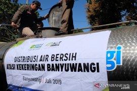 ACT salurkan 15.000 liter air bersih atasi kekeringan Banyuwangi