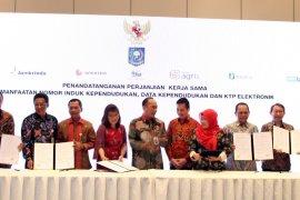 PT Penjaminan Jamkrindo Syariah bersama 13 lembaga keuangan teken perjanjian kerja sama