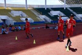 Pemain Pra PON Futsal Aceh mulai jalani tes fisik