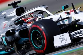 Hamilton raih pole position GP Jerman
