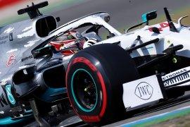 Lewis Hamilton raih pole position GP Jerman