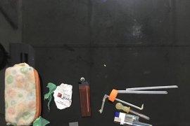 Polisi Langkat ringkus tersangka narkotika saat tidur di rumahnya