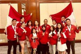 Indonesia meraih 19 medali Kejuaraan Dunia Seni Pertunjukan